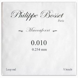 cordes Philippe Bosset PBMACO10L - E 10 - jazz manouche à boucle