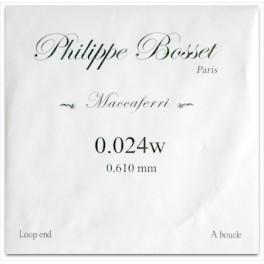 cordes Philippe Bosset PBMAC024L - G 24 - jazz manouche à boucle