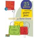 25 pièces dans le style gypsy jazz - Relevés et mini méthode avec play-backs