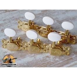 Mécanique Jazz Manouche SCHALLER gold et bouton ivoirine