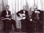 "Django with Alix Combelle & Stéphane Grappelli, ""Stage B"" 1935 (normally seen modified version)"